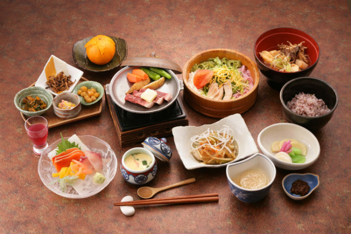 Japanese Meals.