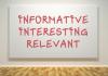 Informative