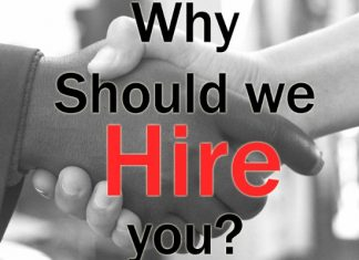 Why Should We Hire You? Job Interview!