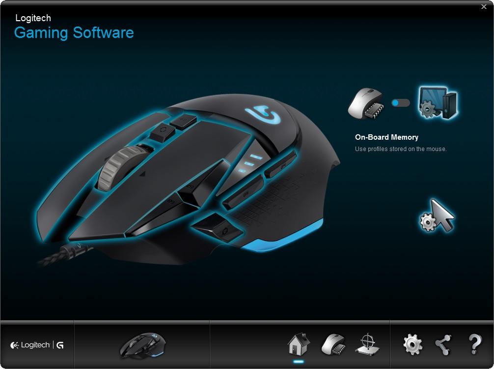 G502 Software