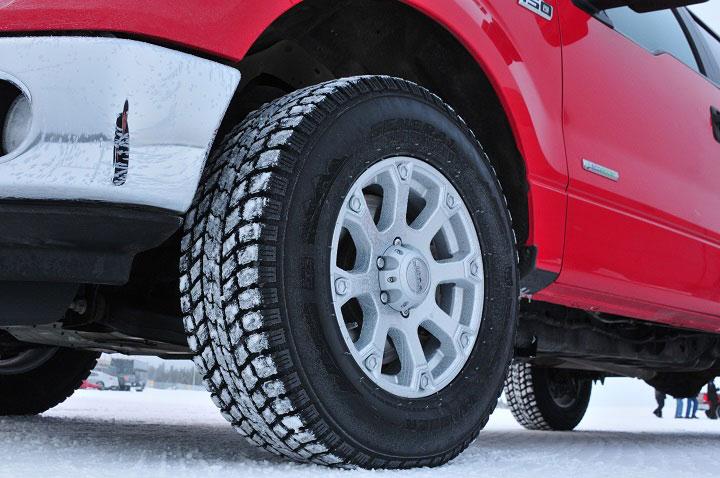 Truck tire