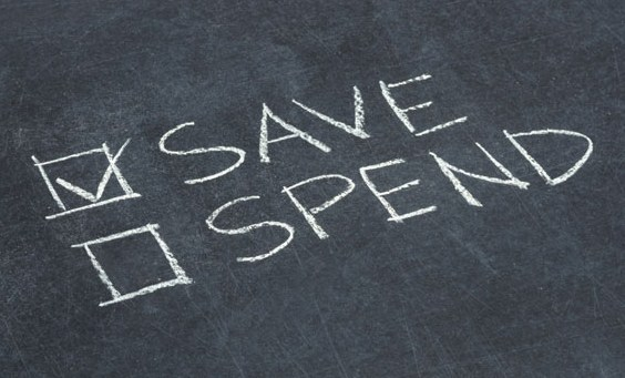 Saving is more important that spending