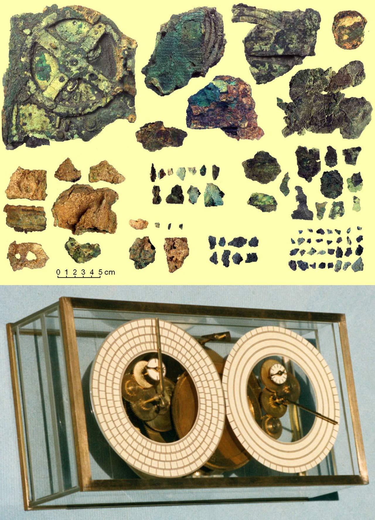 Antikythera artifacts