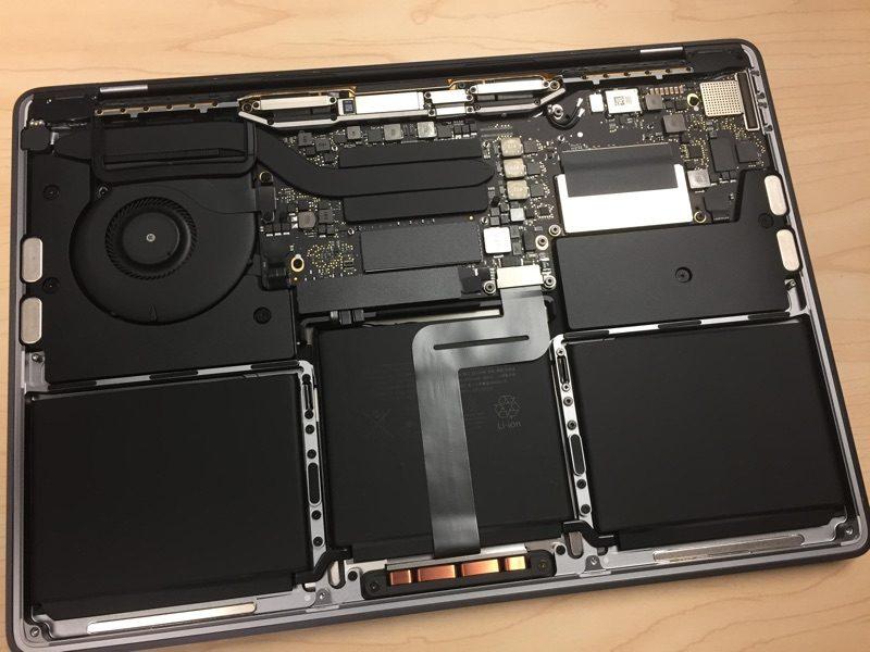 Macbook pro 2016 tear down