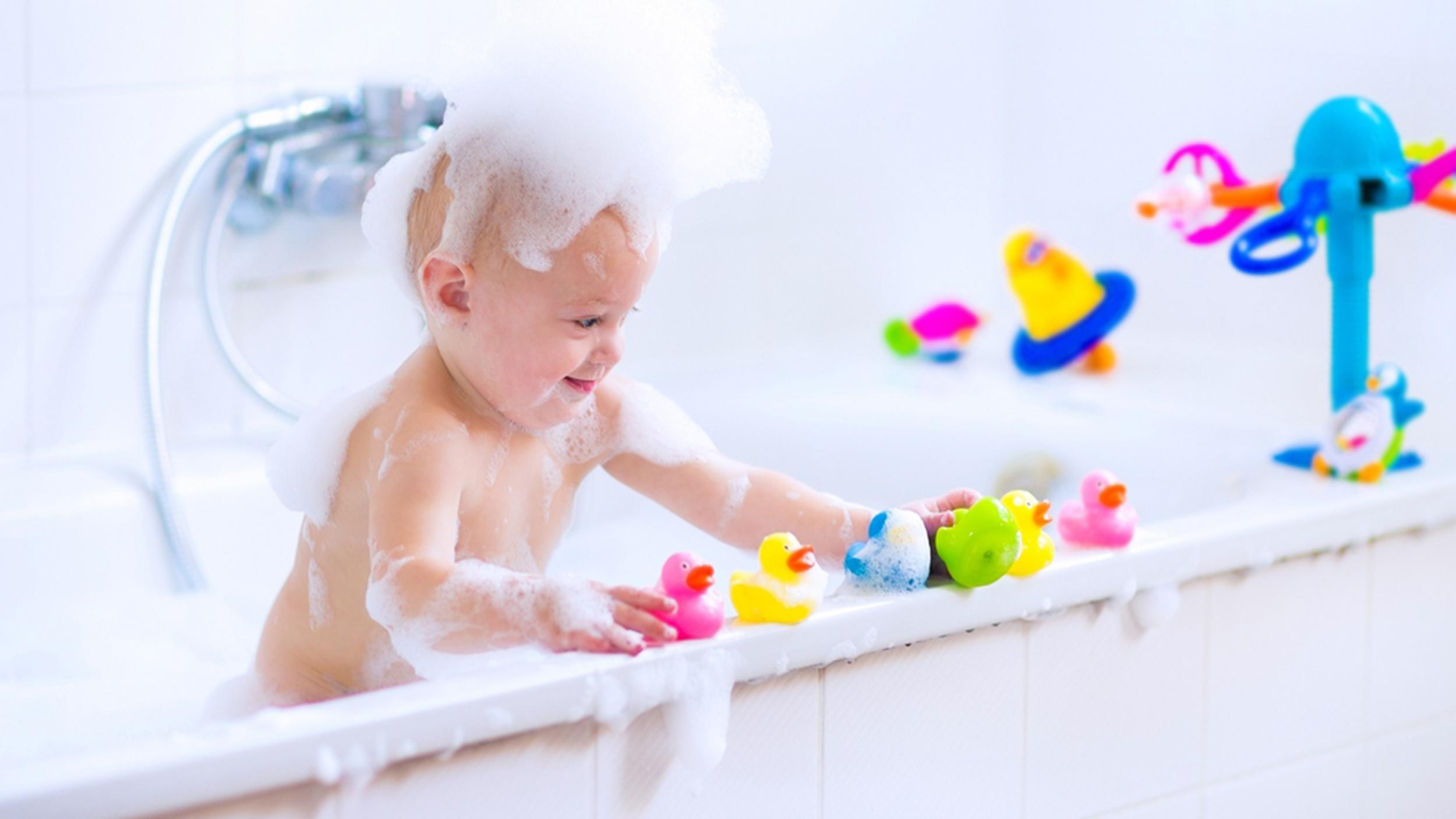 Babyu0027s Shower Toys