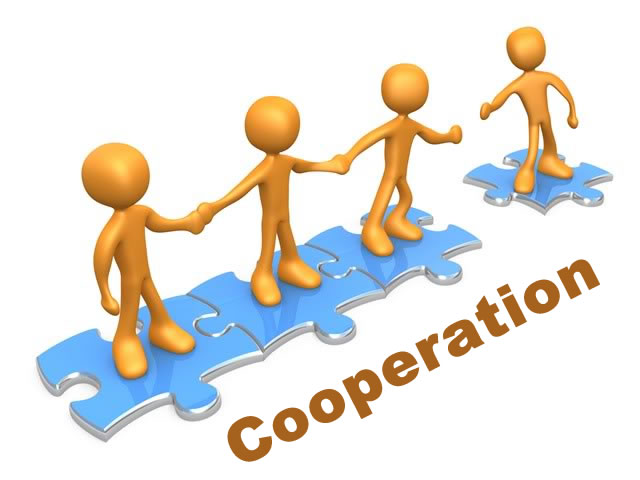 cooperation in life