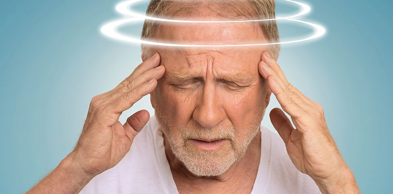 Causes of dizziness when standing