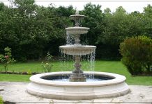 fountain at home