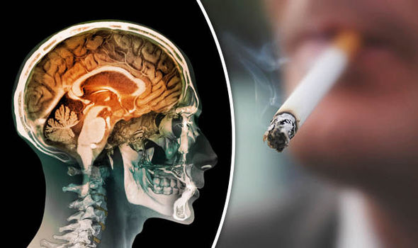 The effect of smoking on brain functions