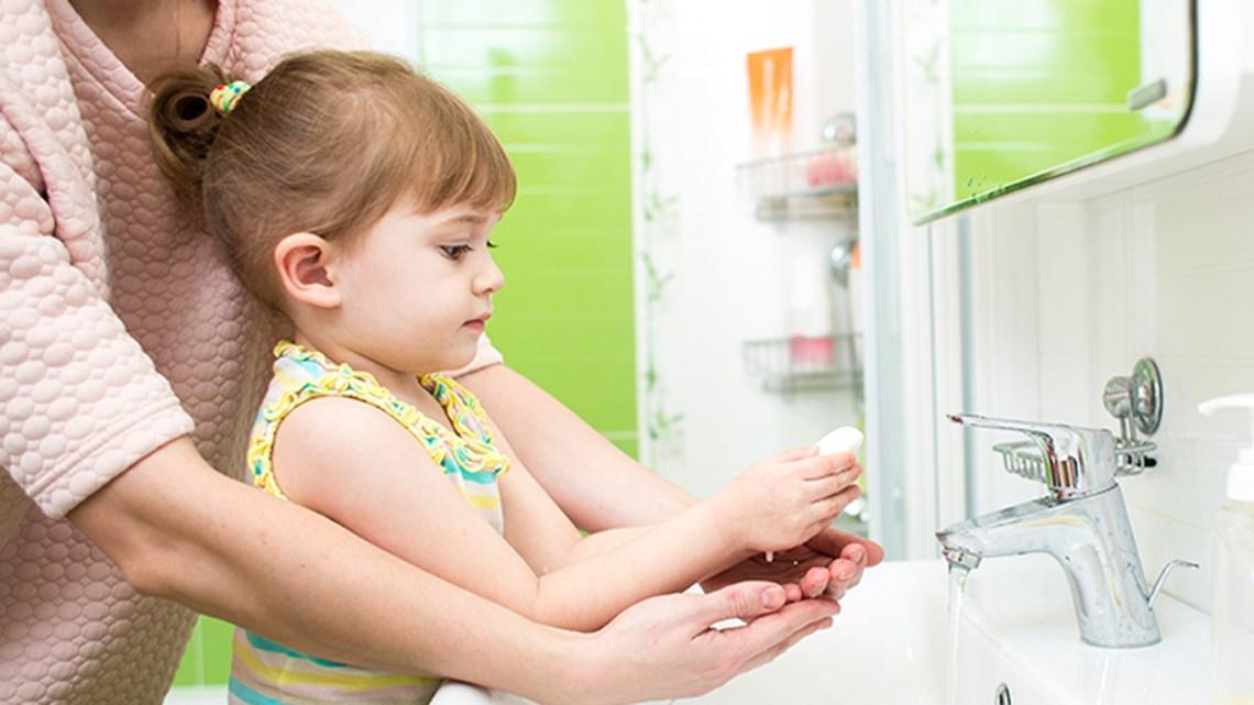 Children Hand Wash